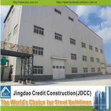 Entrepôt de structure en acier de conception de construction
