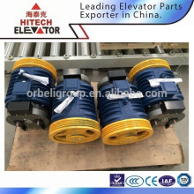 Traction machine for passenger lift/gearless type/for MRL