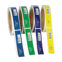 Roll Packaging Custom Printing Brand Logo Adhesive Sticker Label for Perfume Bottle