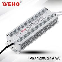 Lpv-120-24 Controlador al aire libre 24V DC LED