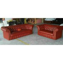 UK Sofa, Leather Sofa, Lobby Sofa (6806)