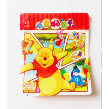Plastic Flat Bottom Biscuit Packaging Pouch