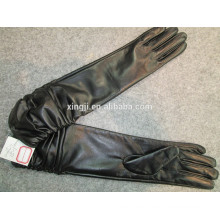guantes de cuero de oveja de calidad superior de moda para regalo