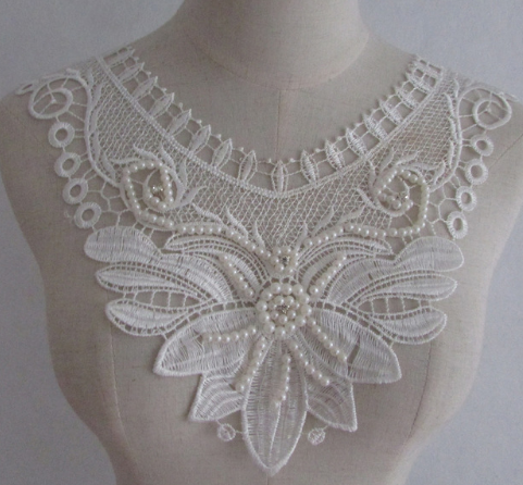 chemical embroidery collar