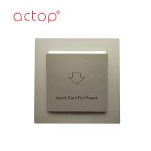 Interrupteur d'alimentation électrique d'hôtel, porte-clé de carte d'hôtel