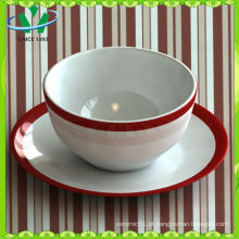 Fábrica de Restaurante Ceramic Soup Bowl Atacado
