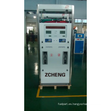 Dispensador de combustible Zcheng con 4 boquillas