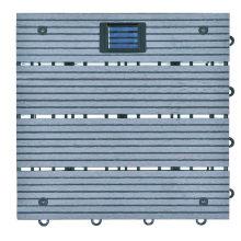Co-Extrusion Wood Plastic Composite WPC DIY Interlocking Decking Flooring Tile