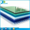 China confiable fabricación 4 mm doble pared policarbonato compact pc hoja hueca