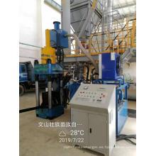 Máquina de prensa de briquetas de reciclaje de acero de virutas verticales