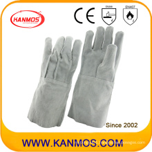 Genuine Leather Industrial Safety Welding Work Gloves (11122)