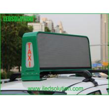 Affichage à LED polychrome de dessus de taxi de P5 avec de doubles visages