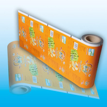 Printed Plastic Food Packaging Film