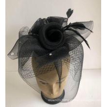 NEW-Women's Horsehair Church Fascinators Hats --YJ81