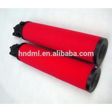 Filtre à huile à haute pression pour l'élément de filtre à air de filtre à air de compresseur d'air 88343447