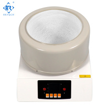 Lab heating mantle with magnetic stirrer