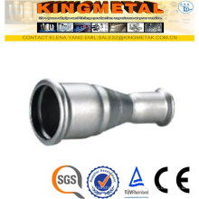 F304/316 Stainless Steel Press Fittings Reducing Coupling