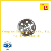 Industrial ANSI Standard Large Sprocket Spur Gear with Six Holes
