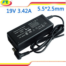 for ASUS laptop adapter 19v 3.42a 65w 5.5*2.5mm notebook power charger
