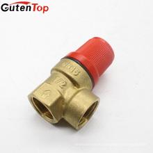 LB Guten usine fournir de bonne qualité soupape de sécurité incendie en laiton pour extincteur