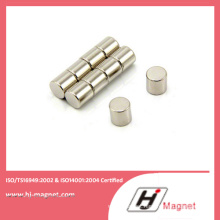 High Quality NdFeB Disc Permanent Magnet with N35-N52 Grade on Motor