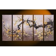 Cheap Latest Art Modern Flower Oil Painting