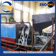 Professional CIP machine activated carbon regenerating kiln