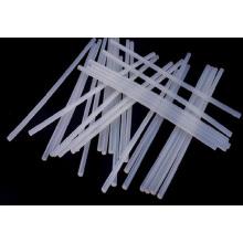 Tiges en caoutchouc transparentes molles / solides expulsées de silicone