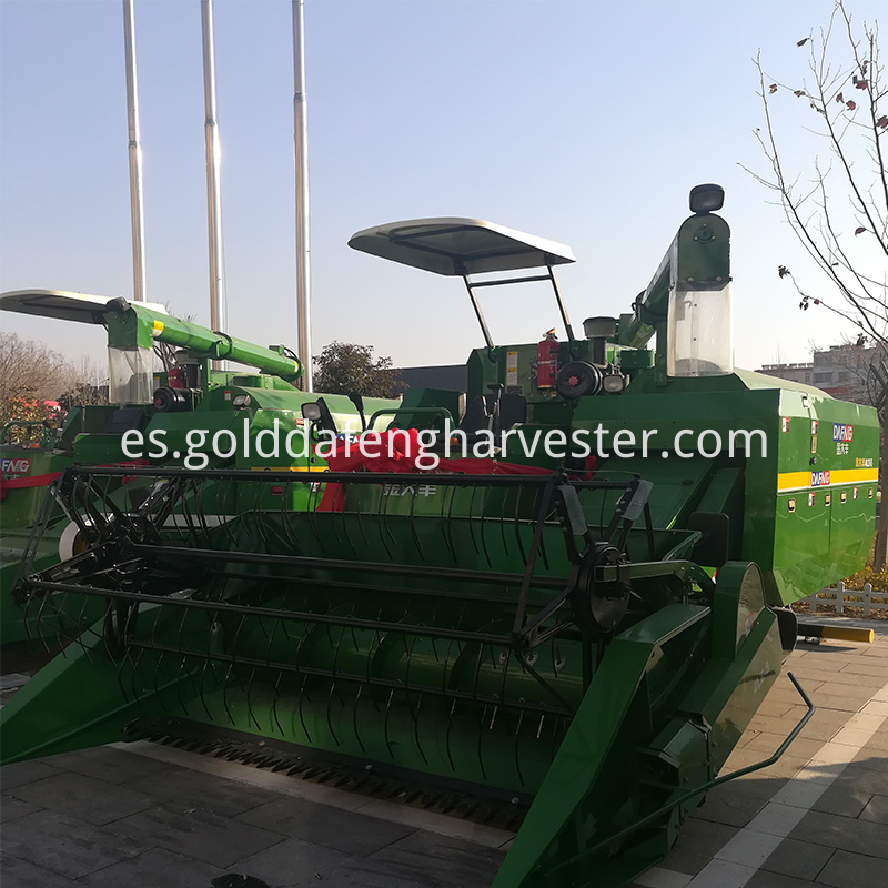 Fuel-efficient Multi-function rice harvester with sun visor