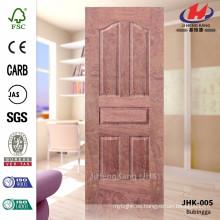 JHK-005 Cinco paneles Nuevo diseño 2016 Madera caliente E1 Hoja de la puerta del iniciado del palo de rosa