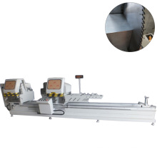 CNC Double Head Aluminum & PVC Section Cutting Machine For 45 Degree For Window And Door