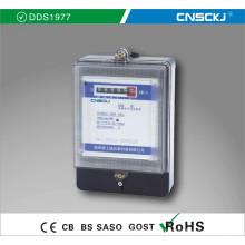 DDS1977 Однофазный высококачественный электронный измеритель энергии