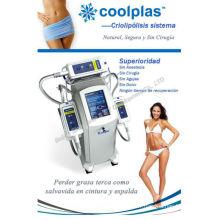 3 Cryo Handle Cryotherapy Cool Tech liposuccion Fat congélation Machine