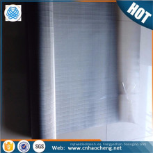 Malla de alambre de titanio puro tejido de titanio tela metálica pura para el intercambio de calor tubular (muestra gratis)