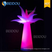 Wholesale Inflatable Lighted Arch Tubes Cones Ivory Tusks Inflatable Pillars