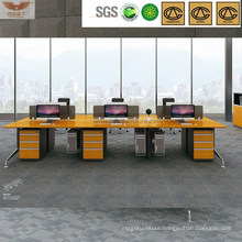 Tipical Bamboo Top 6 Seats Office Cubicles with Cabinets (H60-0207)