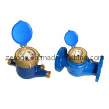 Medidor de água do seletor molhado da roda da aleta do Jato Multi-Jet