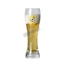 Подгонянная ручная выдувная бутылка пива человека для оптового торговца