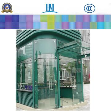4, 6, 8mm vidrio templado, vidrio de la puerta de la ducha