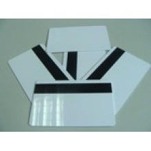 White Blank Printable Magnetic Stripe Card