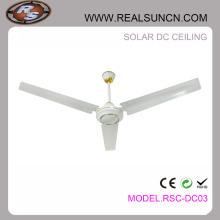 """Boa qualidade 48 """"ou 56"""" solar DC ventilador de teto recarregável"""