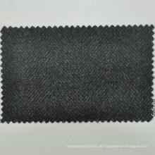 Heißer Verkauf nach Maß maßgeschneiderter Service olivgrün Fischgrät 430g / m 100% Merino superfeiner Wolle Stoff