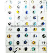 Perle trésors perles de verre avec des couleurs mixtes LS-136