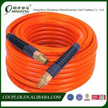 Quick coupler for air conditioner pvc hose orange color