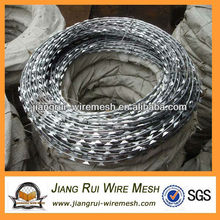 pvc-coating and hot-galvanized razor barbed wire