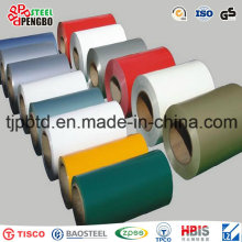 PPGI Coils, Color Coated Steel Coil, Ral9002 White Prepainted.