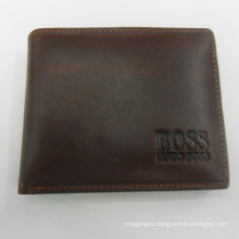 Prestige stylish genuine real leather men business letter wallet
