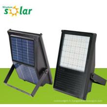 All-in-one CE solaire LED flood lampe avec panneau solaire pour l'éclairage extérieur solaire