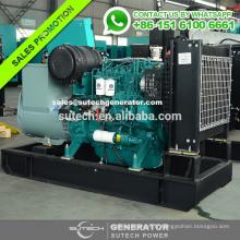 Générateur diesel type Deutz 60kw ouvert avec alternateur Marathon