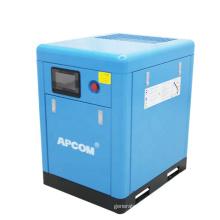 APCOM Low Noise 10 hp 7.5 kw 10HP compressor 7.5kw screw air compressors